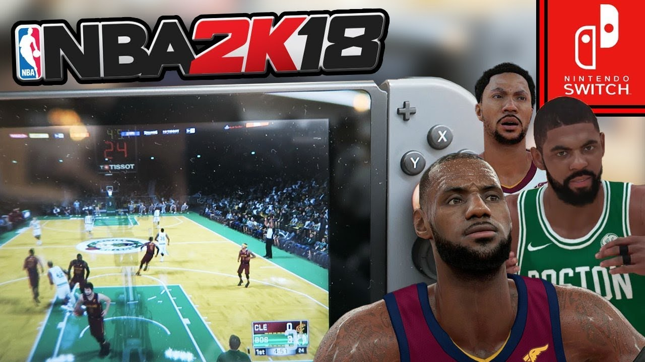 NBA 2K18 on Nintendo Switch Fully Featured, More Details