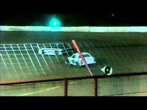 Pure Stock Heat #2 at Flomaton Speedway May 9,2015