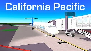 ROBLOX | California Pacific Airlines MD-80 Flight