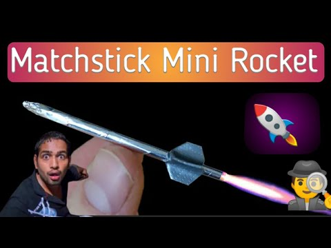 Download How to make a matchstick rocket | how to make mini rocket