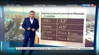 Погода 24: Москву засыпает снегом
