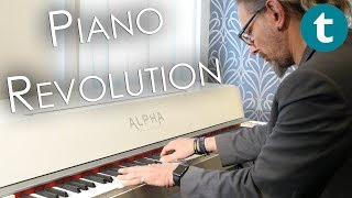 Steinway in a box? | Alpha Pianos Studio | First Look