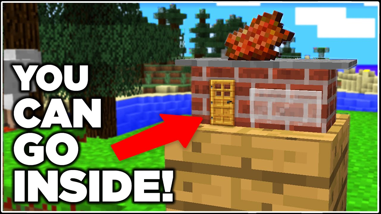 WORLD'S SMALLEST MINECRAFT BUILDS! - YouTube