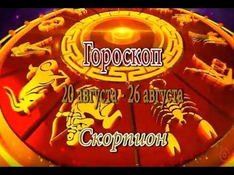 Скорпион. Гороскоп на неделю с 20 августа по 26 августа