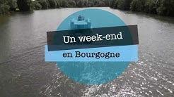 Balade en pé́niche sur le canal de Bourgogne (Joigny) Mai 2018