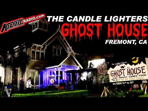 The Candle Lighters Ghost House in Fremont California