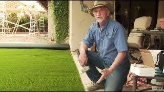 DIY - How to Install Artificial Grass on Dirt