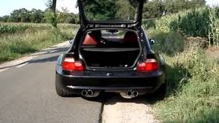 Z3 M Coupe S54 G-power mufflers + resonator delete