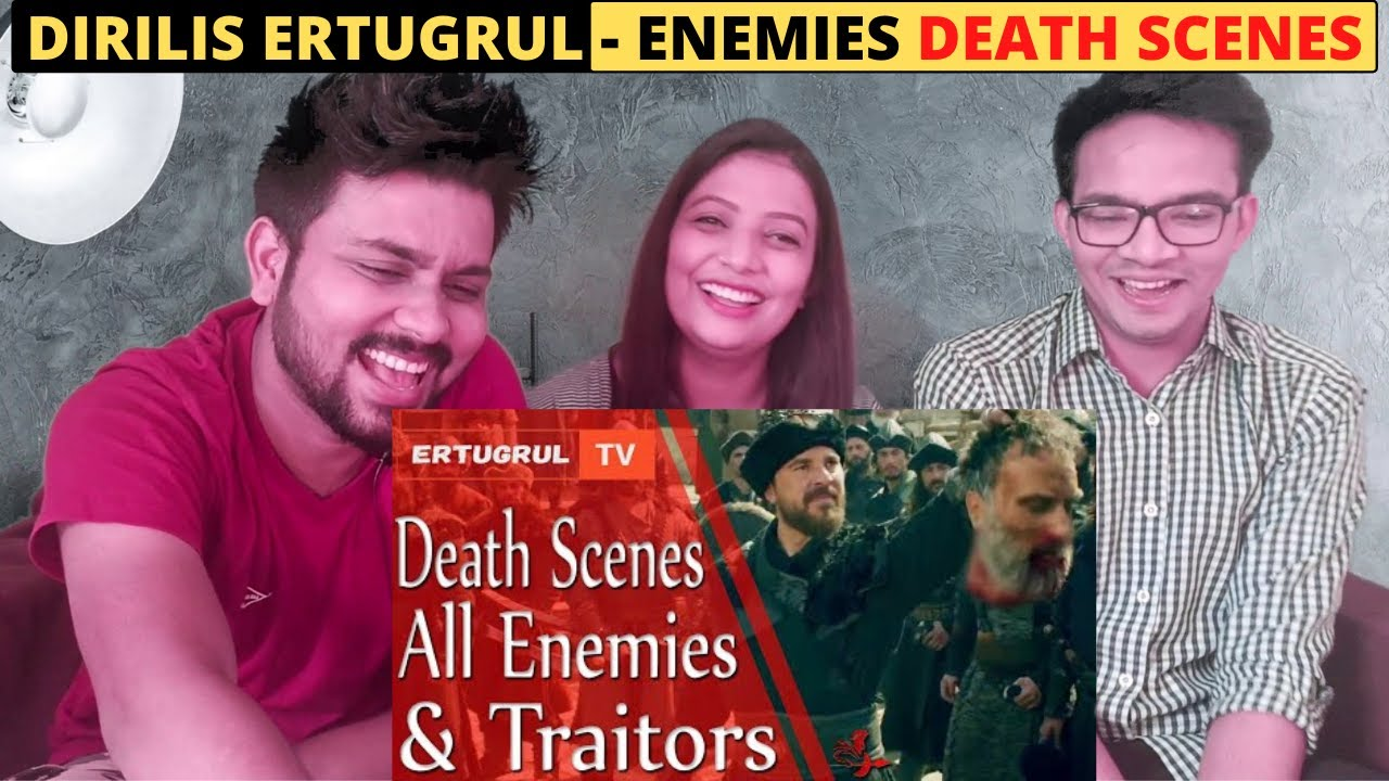 Death Scenes Of All Enemies - DIRILIS ERTUGRUL | Indian Reaction Video | Trendminati