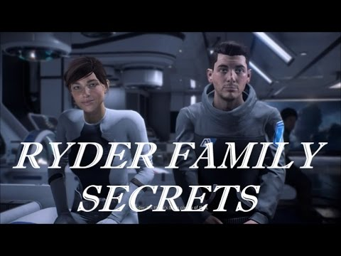 "Mass Effect: Andromeda - ""Ryder Family Secrets"" - All Steps Including Memories and Logs (Backstory)"