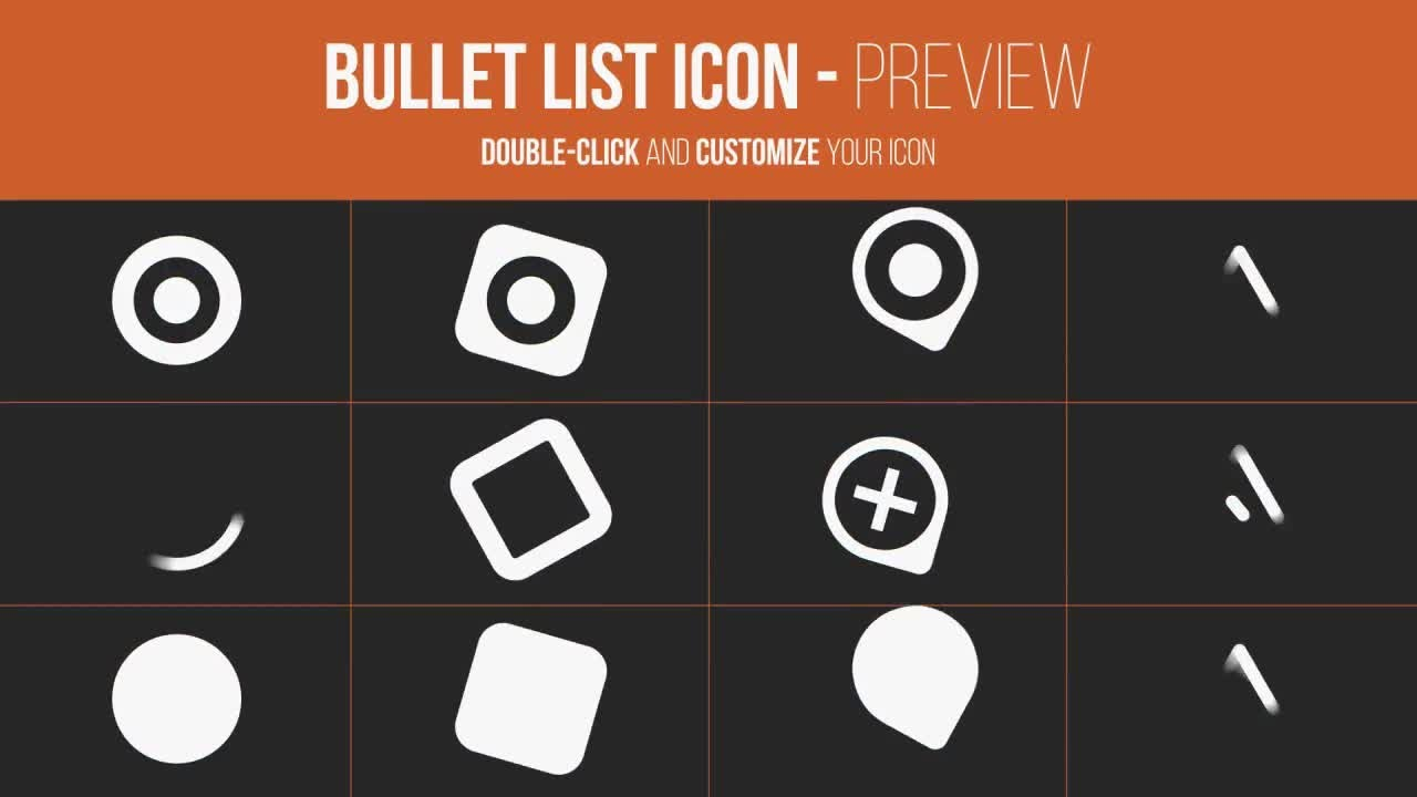 Bullet List Kit After Effects Templates YouTube - After effects list template