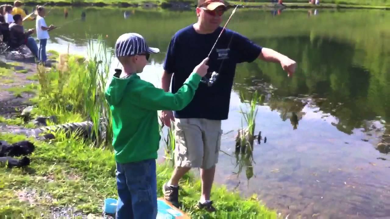 Cabela's Kids Fishing Rodeo @ Morgantown, WV - YouTube