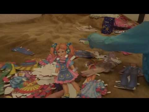 наши бумажные куклы и одежда для них...