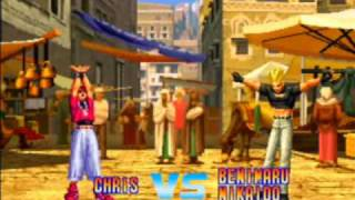 The King of Fighters Dream Match 1999 Game Sample - Dreamcast