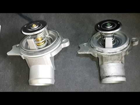 Mercedes   Benz W210 E430 New thermostat installed