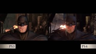Batman: return to arkham — official side-by-side comparison video