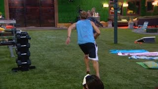 Big Brother - Hayden Chases Nicole - Feed Highlight