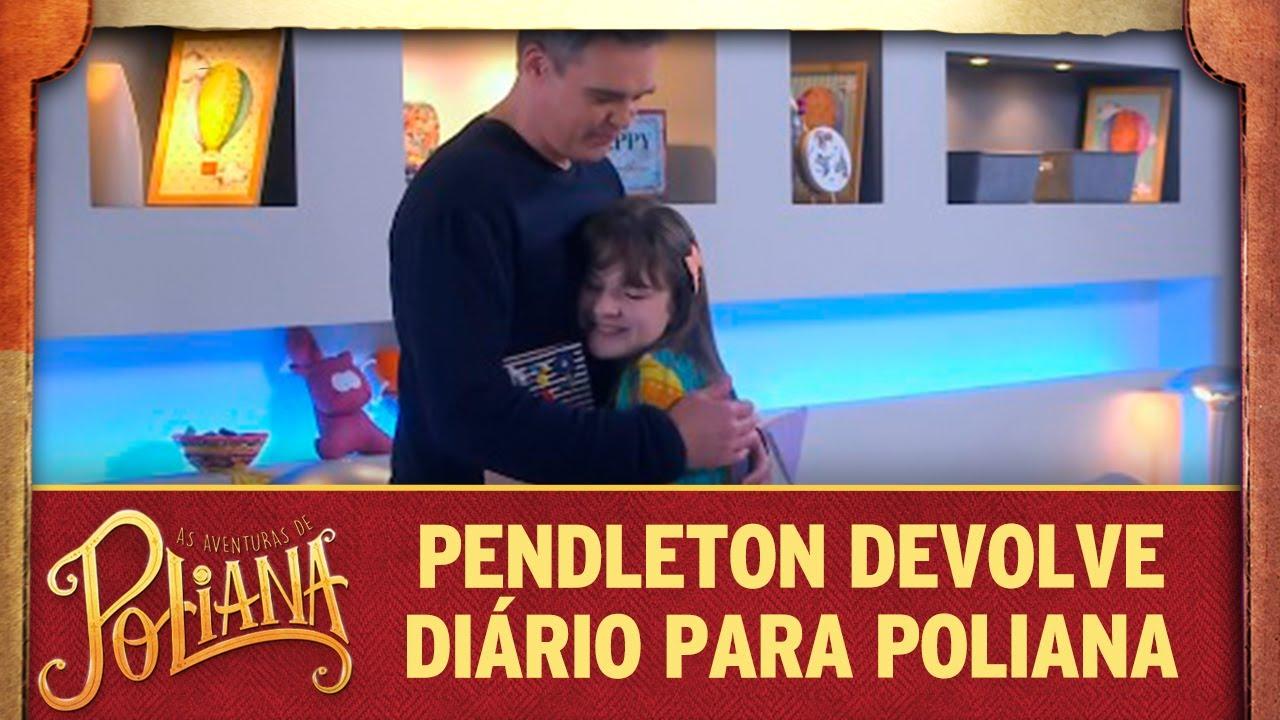 Pendleton devolve diário para Poliana | As Aventuras de Poliana
