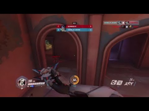 I actually did something as Genji (Petra New Map FFA Deathmatch Win)