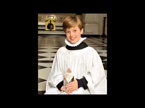 Laurence Kils boy soprano sings Op  113 No  6 A Song of Wisdom