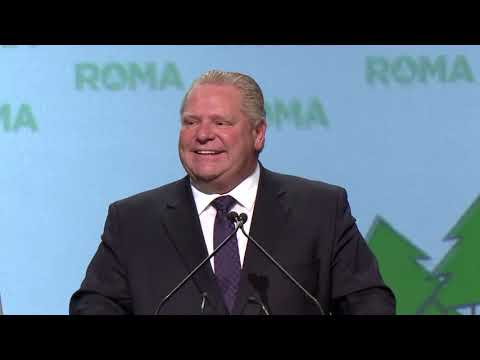 Remarks by Premier Doug Ford at the 2019 ROMA Conference