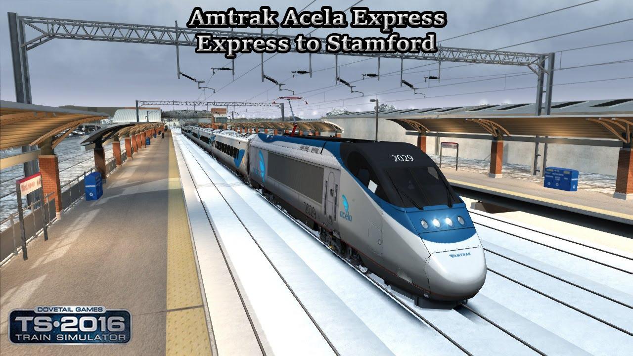 Train Simulator 2016 Career Mode Amtrak Acela Express