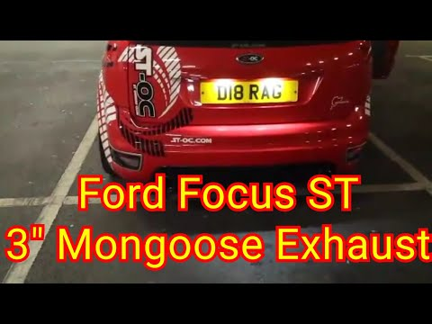 ST-OC Focus ST3 Popping, Banging & Flames