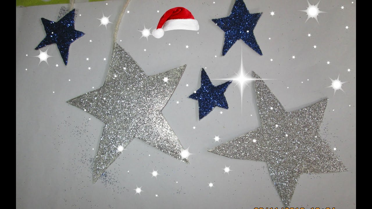 christmas star decorations with christmas star decorations