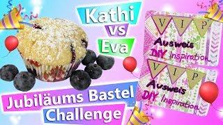 DIY Inspiration Challenge #164 | 4 JAHRE DIY INSPIRATION mit Eva & Kathi Jubiläums Bastel Challenge