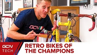Bikes Of The Champions: Wilier's Private Collection Of Pro Bikes