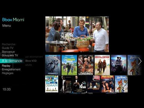 Bbox - Services TV