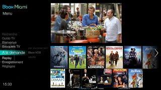Bbox Miami - Services TV