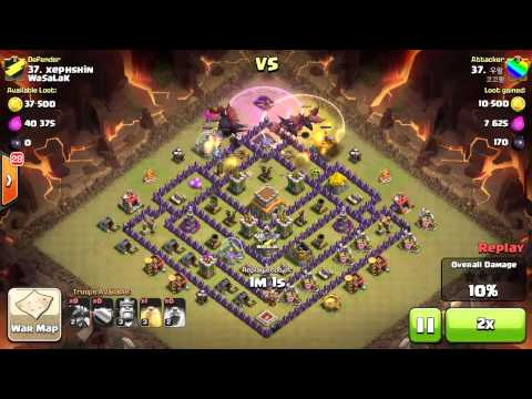"ANTI DRAGON WAR BASE ""COC WITH CAM"" ""SUCCESSFULLY DEFENDED"""