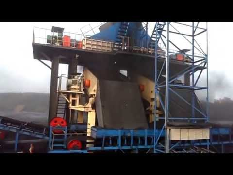 Opencast Mine Coal Crushing and Screening Plant
