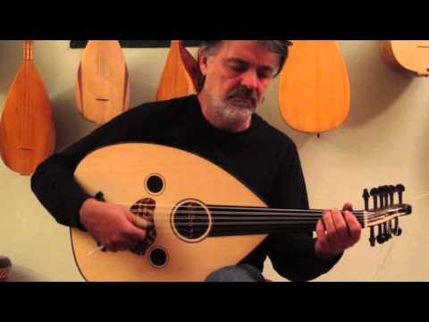 bulent eryalman oud in arabic tuning