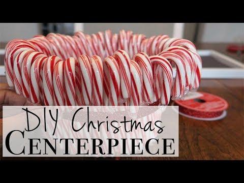 DIY Christmas Centerpiece ~ DIY ASMR
