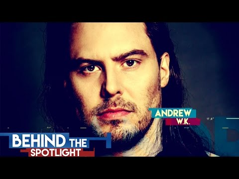 Behind The Spotlight: Andrew W.K.