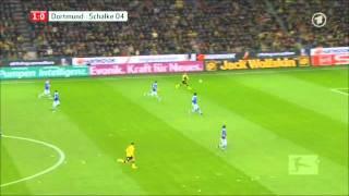 Dortmund gegen Schalke (Alle Tore und Highlights) 26.11.11