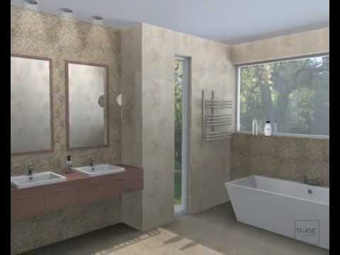 Installation video for wall and mosaic tiles made of natural stone ...