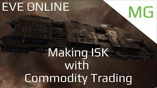 Making ISK With Commodity Trading - Eve Online