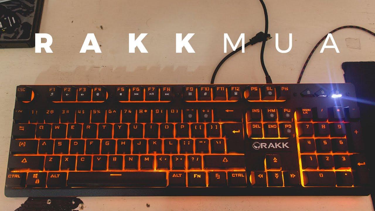 Rakk Mua Semi-mechanical Gaming Keyboard