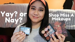 TRYING $1 MAKEUP FROM SHOP MISS A | EPIC FAIL!