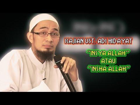 Kajian ceramah Ustad Adi Hidayat,