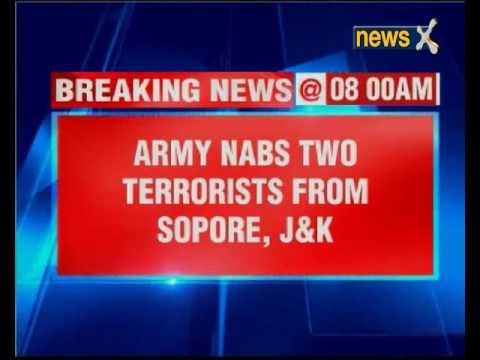 Army nabs two terrorists from Sopore, Jammu and Kashmir