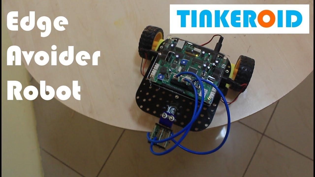 Edge Avoider Tinkeroid Robot