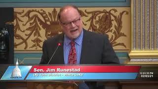 Sen. Runestad urges Governor Whitmer to #LetThemPlay