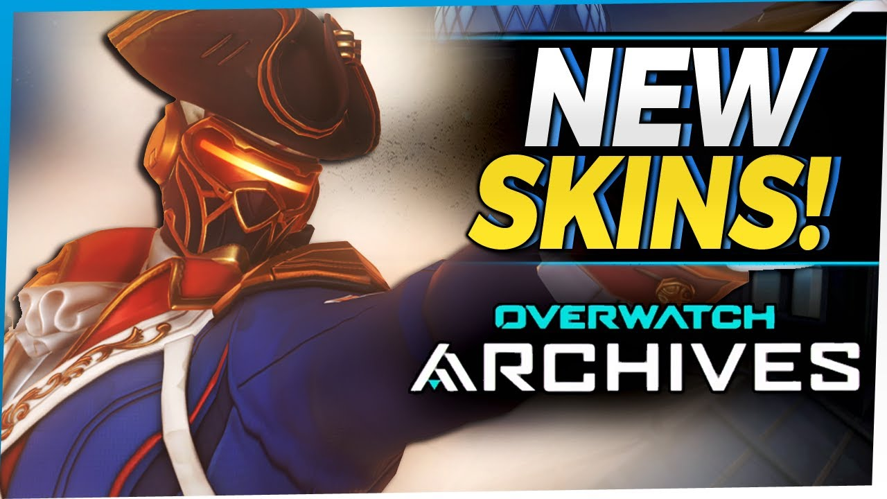 Overwatch All NEW Skins - Archives Event