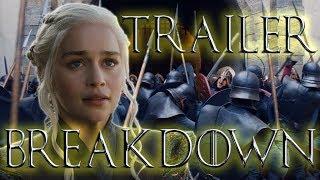Game of Thrones Season 7 Official Trailer Breakdown Shot-By-Shot Analysis