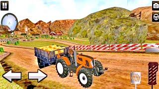 【GAME】  🎮รถไถขนของขนสัตว์เข้าฟาร์ม   Offroad Tractor Transporter   3IN1【MOBILE GAMEs】❤️ screenshot 1