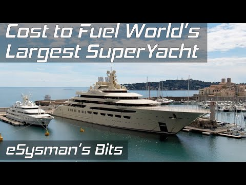 Bits: The Cost to Fill Largest SuperYacht with Fuel? - Dilbar